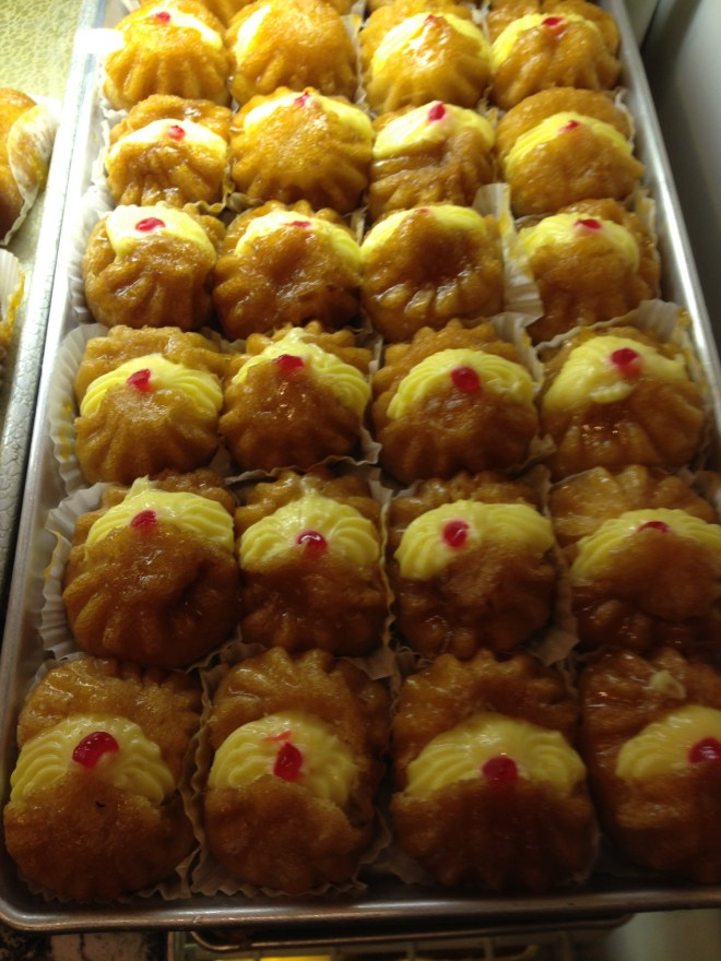 yellow pastry