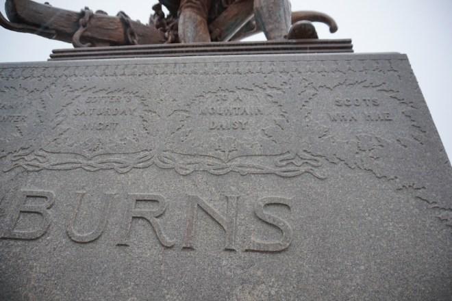 Burns Pedestal