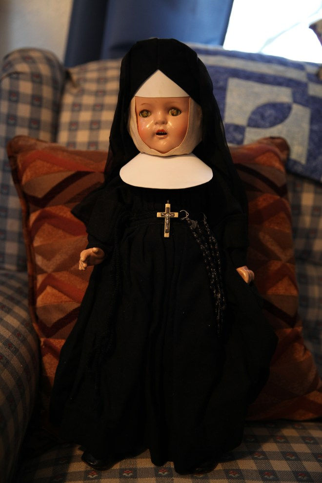 St. joseph Nun Doll