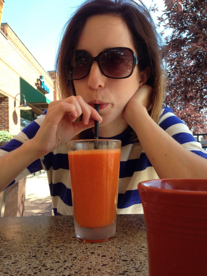 smoothie carrot ginger