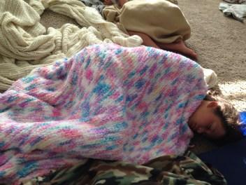 anna sleeping