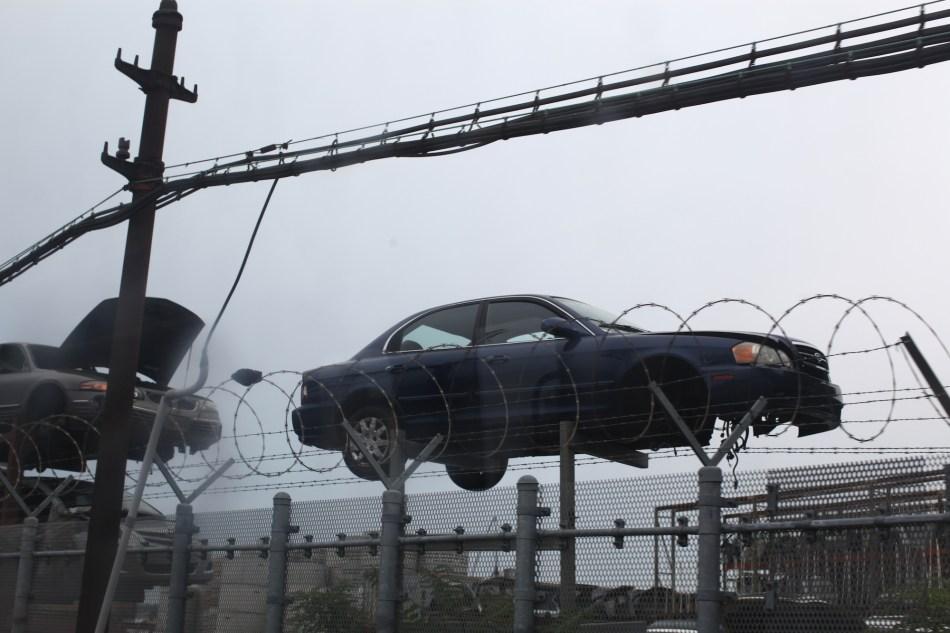 junk car NYC subway