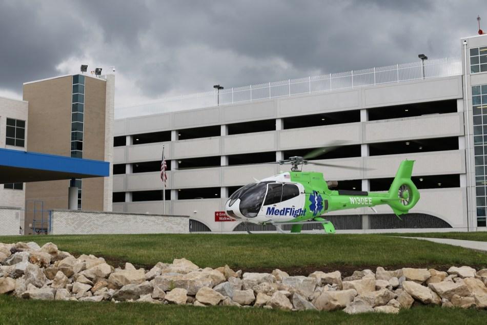 Med FLight Helicopter