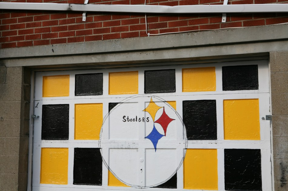 steelers door