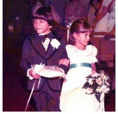 Aunt Georgeann's Wedding