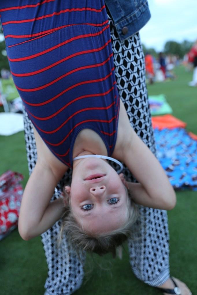 maura upside down