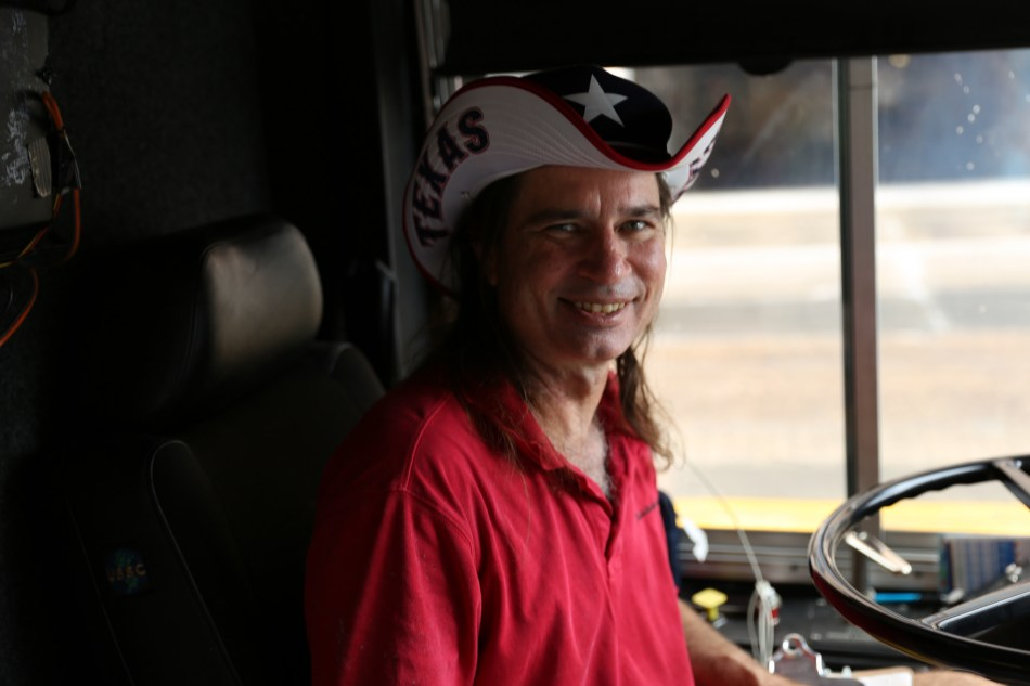 Steve our Bus Driver