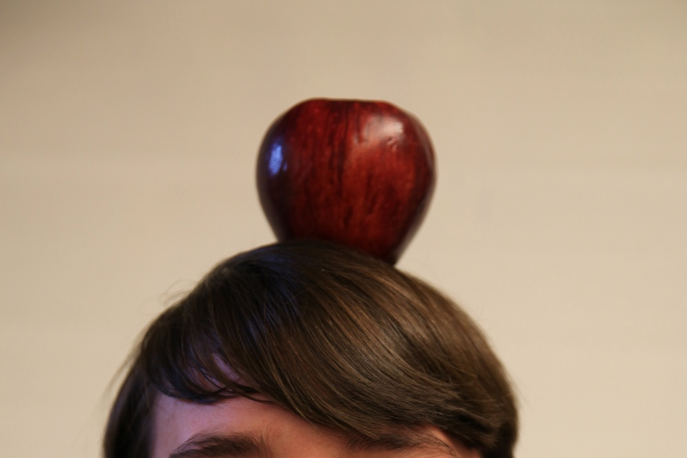 apple atop student