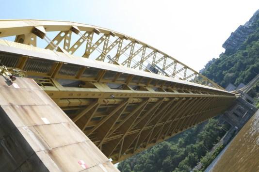 Under Ft. Pitt Bridge