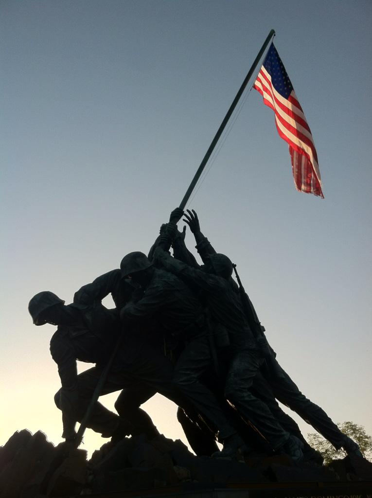 Marine Memorial at Arlington