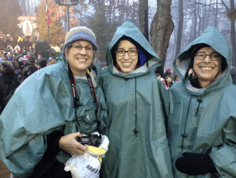 2014 Punxsutawney Me Laura and Mary