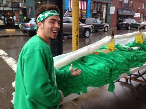 Orlando selling green tees