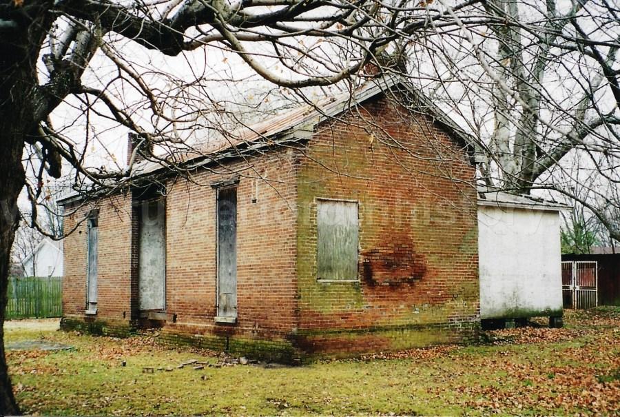 The Ransom School House, January, 2003.