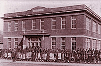 Bradley Academy has been located at 415 South Academy Street since 1918.