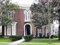In 1943, Ned Carmack purchased the historic Palmer Mansion, 434 East Main Street in Murfreesboro from the George Beesley heirs.  (Beesley bouth the home in 1918 from the heirs of Confederate General Joseph Palmer, who built the mansion in in 1869.)