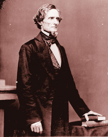 Confederate President Jefferson David