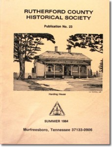 Publication 23: Harding House, Milton, County Stores in the Jefferson area, Will Abstracts [Record Book 7 - 1827-1828], Tax Records 15th [Valley] and 16th [Milton] Districts for 1836, 1837 & 1849. OUT OF PRINT