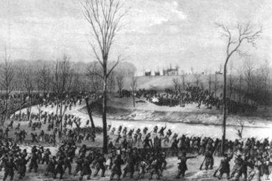 Illustration courtesy of the Stones River Battlefield