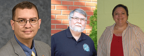 MTSU Professors Derek Frisby, Hugh Berryman and Shannon Hodge