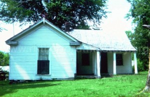 The Lenor home was located next door to the church
