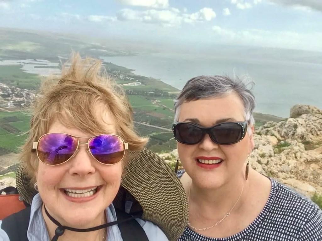 overlooking Lake Galilee
