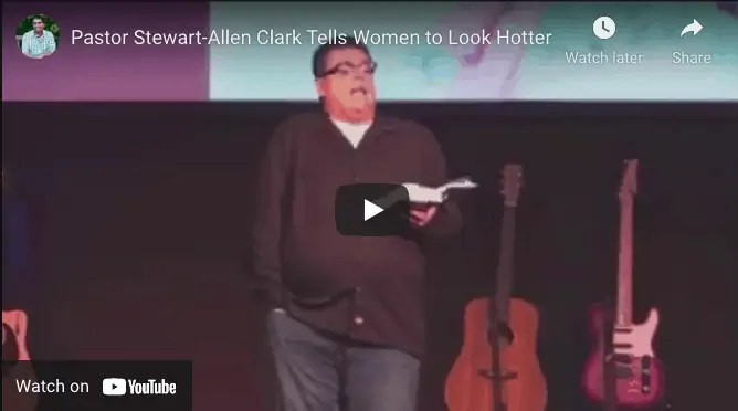 Stewart-Allen Clark on the male gaze