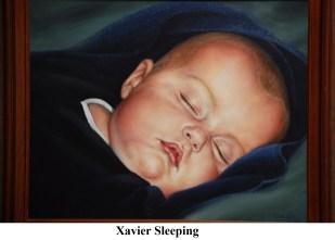 A Xavier Sleeping