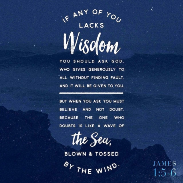 ASK FOR WISDOM!
