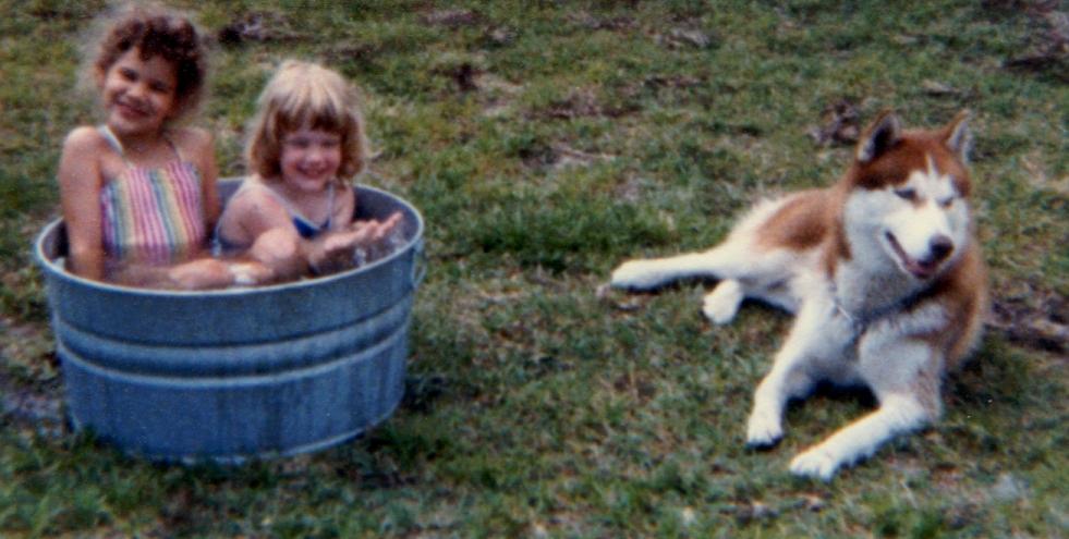 Amber, Veronica, & Cody | Florida | 1986