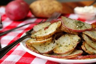 8-Baked-Herb-Potato-Slices