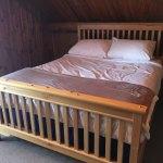 Third floor family bedroom with queen bed