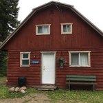 Red cottage main entrance