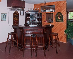 Bar with seating