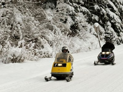 Access to Gold Rush snowmobile/ATV trail