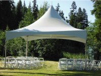 Large tent rental for larger events