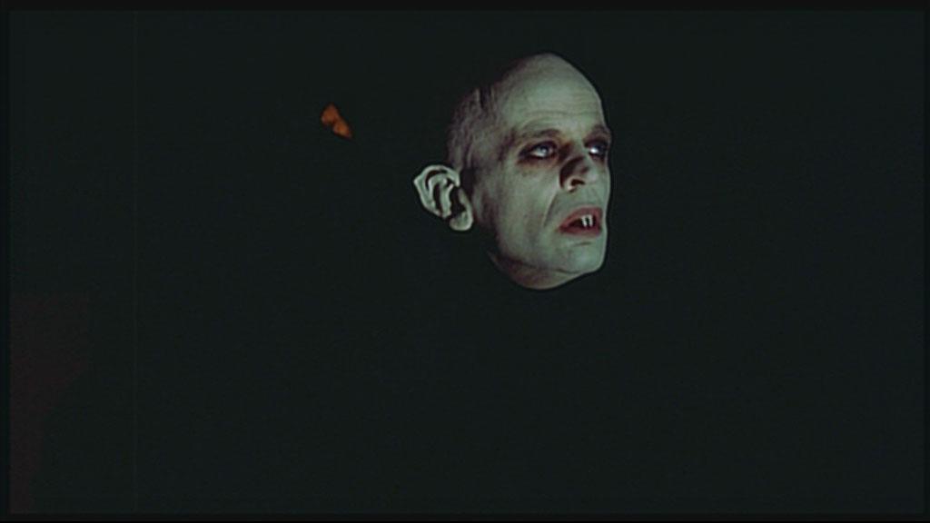 Kinski as Dracula