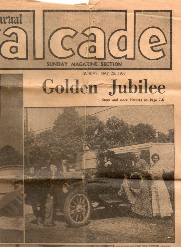 Lenoir City, Tennessee's Golden Jubilee, 1957 (1/6)
