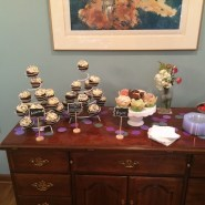 Cupcakes at the Dayton shower