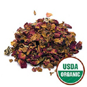red-rose-buds-petals-organic for anti-wrinkle cream