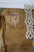 Silk handkerchief with label
