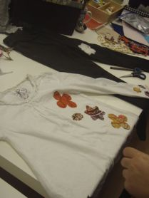 Customising clothes