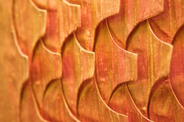 Silk tiles panel