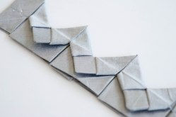 Box pleat variation