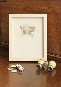 Small framed piece