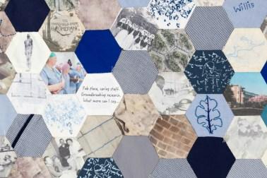 Ruth Singer Harefield Hospital Centenary Quilt (detail)