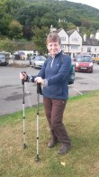Walking Poles. Christmas gift from lads. 04/10/14