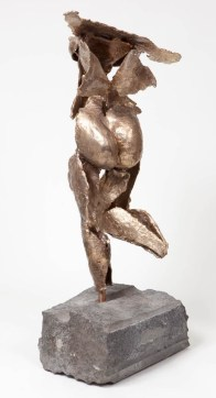 """163 OOPS - Bronze, cast and assembled 2009 - 25"""" x 8"""" x 12"""""""
