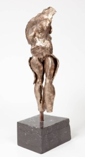 """169 BOUNTIFUL (view 1) - Bronze, cast and assembled 2009 - 19"""" x 8"""" x 6"""" -"""