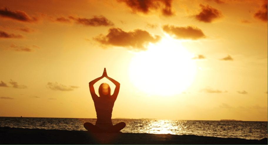 Novedosa tendencia perfecta para practicar Raja Yoga