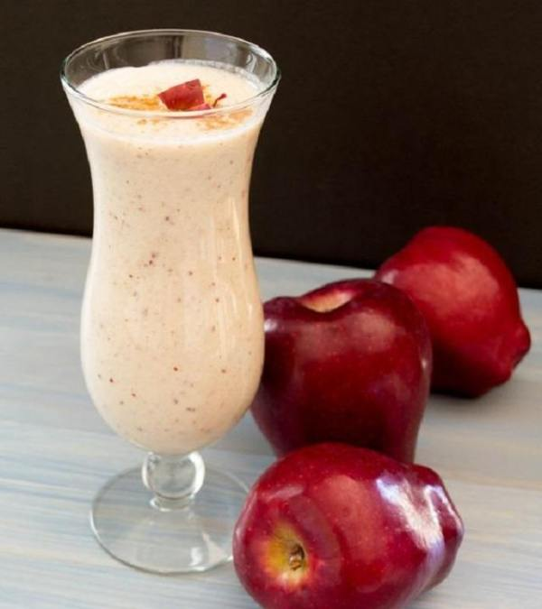 7-batidos-naturales-para-ganar-masa-muscular-manzanas